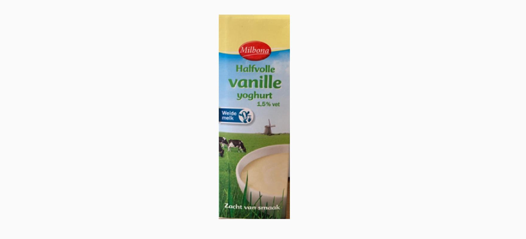 Lidl terugroep yoghurt